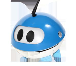 Solly de zon-etende robot